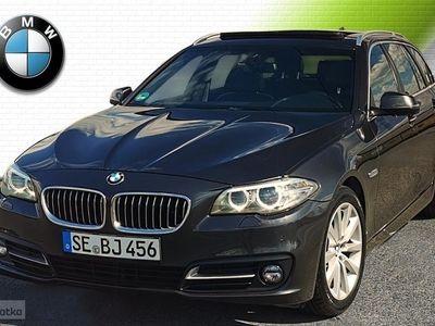 używany BMW 520 SERIA 5 dA Wentyle+Panorama+Komforty+Pamięć+4x Klima, Zabrze