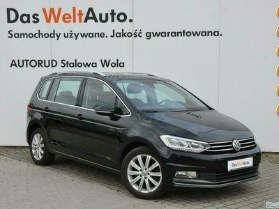 używany VW Touran 2.0 TDI 150KM DSG Highline HAK LED Serwis ASO FV 23% III (2015-)