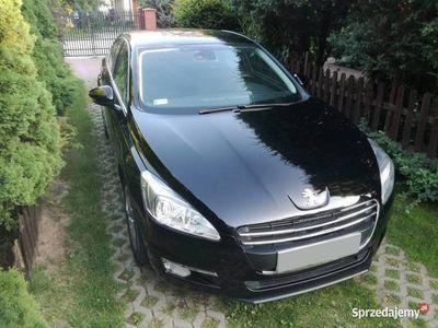 używany Peugeot 508 1,6 diesel sedan