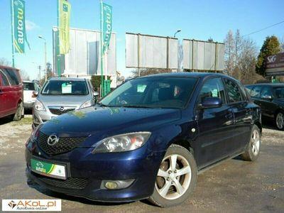 używany Mazda 3 1.6dm 105KM 2004r. 214 000km