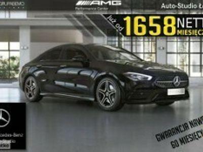 używany Mercedes CLA220 Klasa220d AMG PakietNight KeylessGo AsystentParkowania