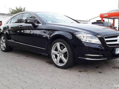 używany Mercedes CLS350 CDI w218 Polski salon 2x alufelgi 159000km