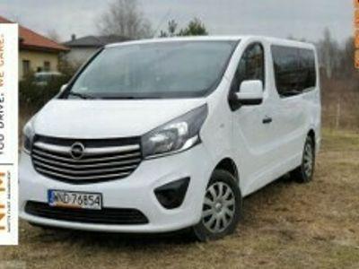 używany Opel Vivaro 1,6 CDTI(120 KM) Edition 9-OSOBOWY Salon PL F-Vat II (2014-)