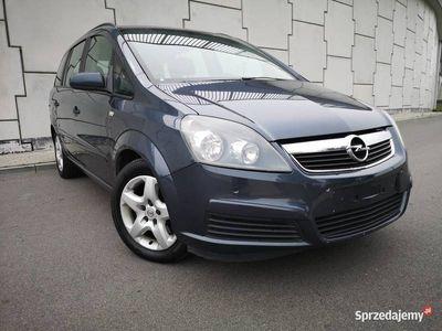 używany Opel Zafira 1.9CDTI 120KM 7-MIO OSOBOWY SERWISOWANY ZADBANY