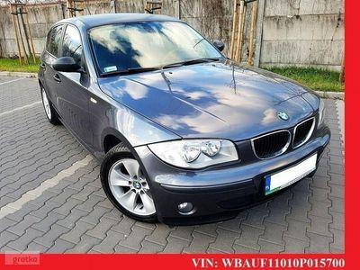 brugt BMW 116 SERIA 1 i * manual * zadbana * klimatyzacja * alufelgi * warszawa