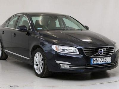 używany Volvo S80 2dm3 245KM 2014r. 143 837km WN2250G # Wersja Summum # T5 # 245 KM # Automat # Faktura VAT #