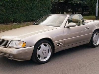 używany Mercedes SL500 Klasa SL R129 1999R129 Cabrio 306km Bose Xenon Monoblock LUXURYCLASSIC