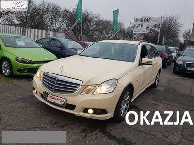 używany Mercedes E200 2.2dm3 135KM 2011r. 153 946km Navi, alu, skóra, el. tylna klapa, bluetooth, automat
