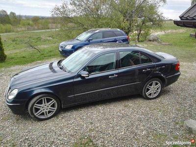 używany Mercedes E320 CDI – AUTOMAT – 208KM W211 - Koła 18 cali