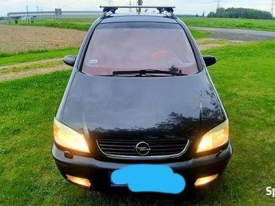 używany Opel Zafira 2.0 diesel 101 km 7 foteli zadbany