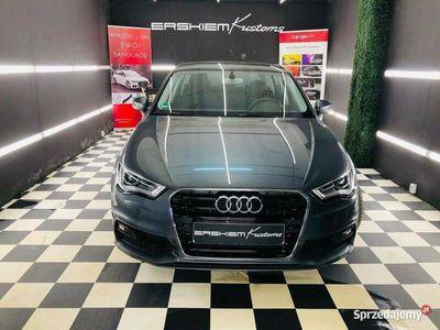 używany Audi A3 1.4 150KM S line, oryginał lakier, tylko 67.218km
