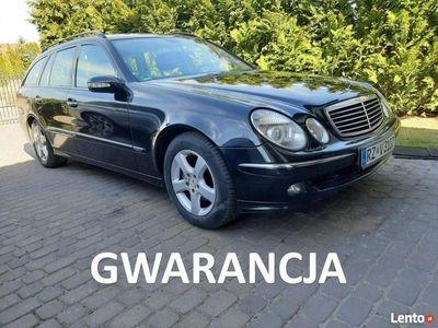 używany Mercedes E320 AVANTGARDE, zadbany, GWARANCJA W211 (2002-2009)