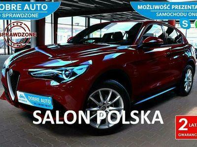 używany Alfa Romeo Stelvio 2.0 280KM EXECUTIVE, Martwe Pole, Skóra, Navi, Kamera, FV23%