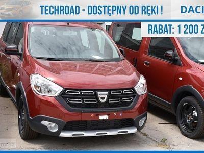 używany Dacia Lodgy SL TECHROAD 100Km 7 osobowa !! Nawigacja Okazja !!