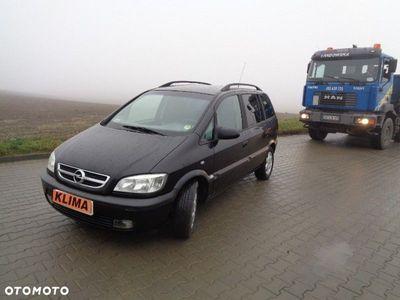 used Opel Zafira A