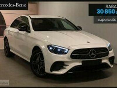 używany Mercedes 200 Klasa E 2.04MATIC (197KM) | AMG | Kamera 360 + Ambiente + NFC
