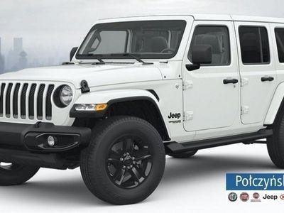używany Jeep Wrangler III [JK] JL Unlimited Night Eagle 2.0 265KM   Biały BRIGHT WHITE - jedyny w P