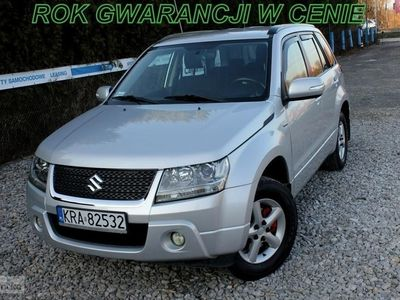 używany Suzuki Grand Vitara II 1.9DDIS+130KM+Rok GWARANCJI w Cenie+Fabryczny Lakier+Lift+Zarejestro