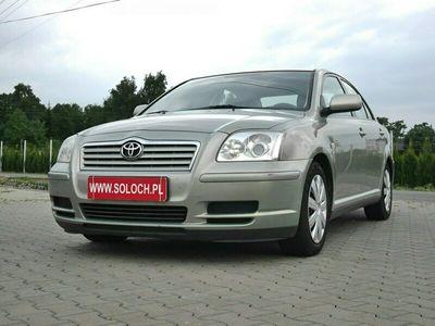 używany Toyota Avensis 1.8dm 129KM 2005r. 237 000km