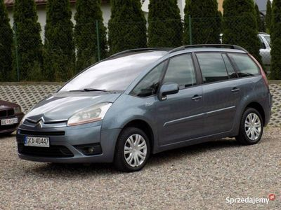używany Citroën C4 Picasso 109KM Manual 7 Osobowy Czujniki Parkowania I (2006-2013)