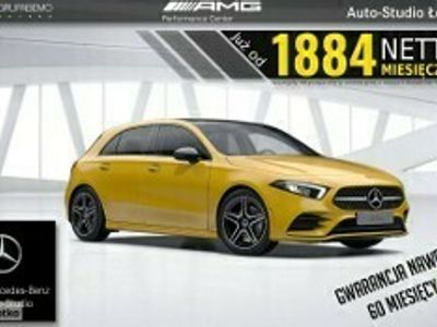 używany Mercedes 200 Klasa A W177 200d AMG KeylessGo Tempomat Ambient LED