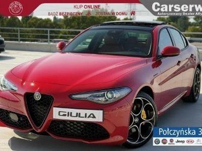 używany Alfa Romeo Giulia Veloce 2.0 280 KM Q4| Czerwony - Alfa Rosso / Brązowa skóra | MY2020