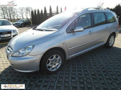 gebraucht Peugeot 307 SW 1.6dm 109KM 2005r. 193 300km