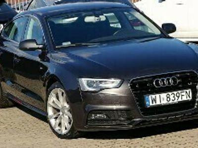 używany Audi A5 II aut S-Line Krajowa Bang/Olufsen DVD LED Navi 3g