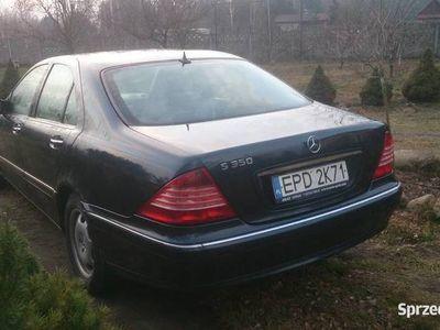 używany Mercedes S350 w220 benzyna+gaz