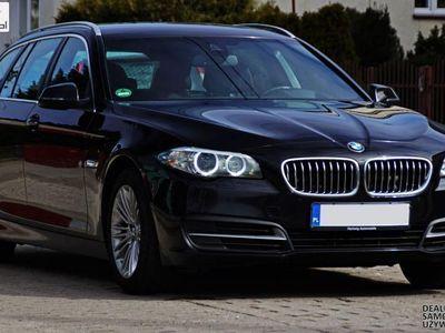 używany BMW 520 2dm3 190KM 2014r. 150 000km d Lift LED Navi Pro. HUD Komforty - Gwarancja Raty Zamiana