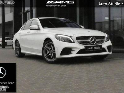 używany Mercedes 200 Klasa C W205 2004M AMG Ambient KeylessGo Nawigacja