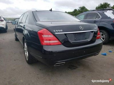 używany Mercedes S550 S 550 -Benz4MATIC benz. V8 4.6 455 KM 7-bieg. automat. 10/2011 W221(2007-2013)