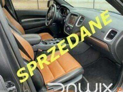 używany Dodge Durango III 5,7 AWD 4X4 CITADEL /monitory/ACC/wentylacja
