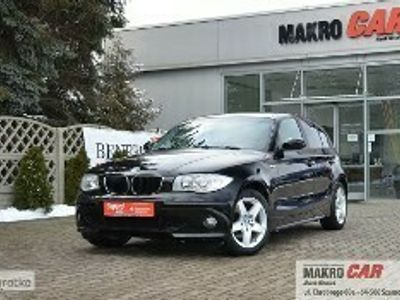 używany BMW 120 SERIA 1El. szyby * Nawigacja GPS * Klimatyzacja dwustrefowa