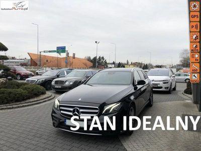 używany Mercedes E220 2dm3 195KM 2017r. 101 000km AMG,led,skóry,temp,kam 360.cofan,temp,navi,distronic