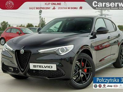 używany Alfa Romeo Stelvio Veloce 2.0 280 KM 2020 | Czarna | Dodatki | 2020