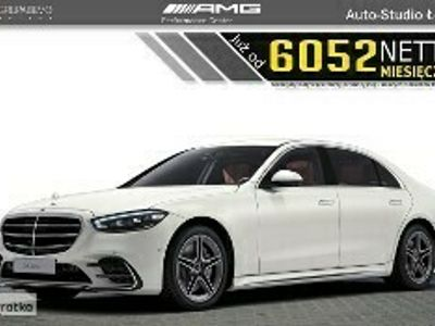 używany Mercedes S400 Klasa S W222 400d 4Matic Long AMG Kamera360 Designo