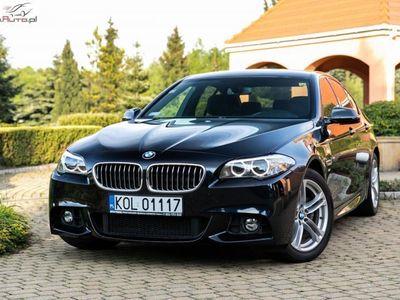 używany BMW 520 2dm3 190KM 2015r. 65 000km 190KM xDrive. Salon Polska. 1 właściciel. M-Pakiet. IDEAŁ.