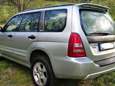 używany Subaru Forester 2.0 XT TURBO S-TURBO LPG 2004 rok
