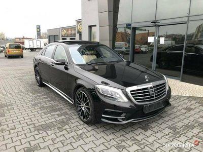 używany Mercedes S500 4matic, salon polska, AMG, pełna opcja W222 (2013-)