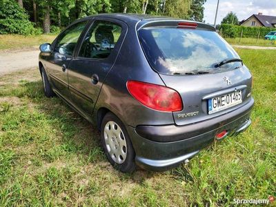używany Peugeot 206 1.4 benzyna 2007r. Polski Salon
