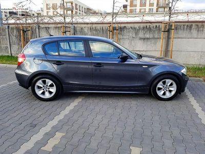 brugt BMW 116 seria 1 1.6dm3 115KM 2006r. 177 000km i * manual * zadbana * klimatyzacja * alufelgi * warszawa