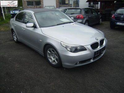 używany BMW 525 525 2.5dm3 177KM 2004r. 205 000km D, 2.5D, 2004r., AUTOMAT-TIPTRONIC