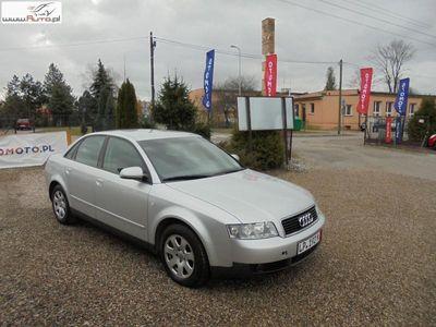 używany Audi A4 2dm3 130KM 2002r. 186 000km Bezwypadkowa manual oryginał z Niemiec !