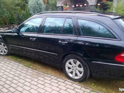 używany Mercedes E320 W211Avantgarde brak pneumatyki -tez zamiana