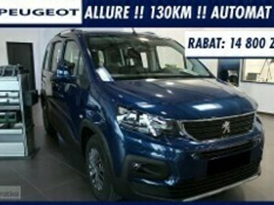 używany Peugeot Rifter Standard ALLURE 130Km Automat !! Navi !! Kamera !! Klima Automatyczn