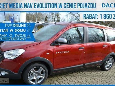 używany Dacia Lodgy Stepway 100Km 7 osoobwa !! Nawigacja !! Okazja !! Extra Cena