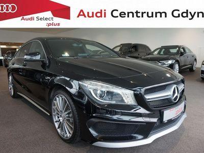 używany Mercedes CLA45 AMG 2dm 361KM 2015r. 90 000km
