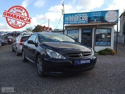używany Peugeot 307 CC 2dm 136KM 2004r. 170 000km