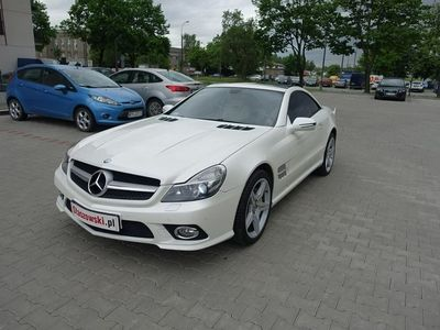 używany Mercedes SL500 5.5dm 388KM 2010r. 97 600km
